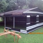 Kıl çadır nasıl üretilir. Kullanıma hazır kıl çadır örneği.